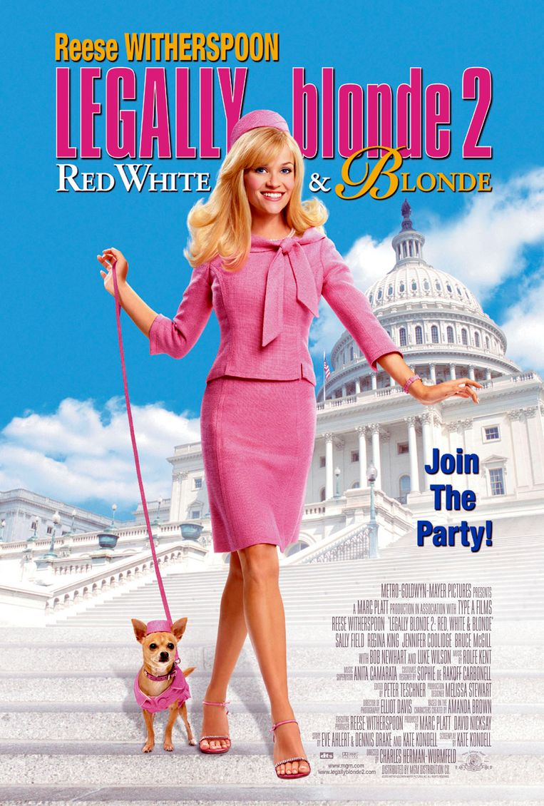 Affiche van 'Legally Blonde 2'.