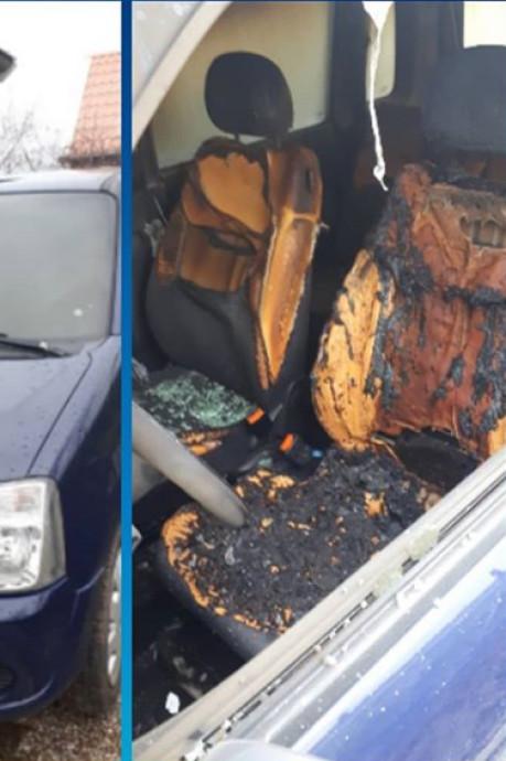 Vandaal vernielt ruiten van huis in Tholen en steekt auto in brand