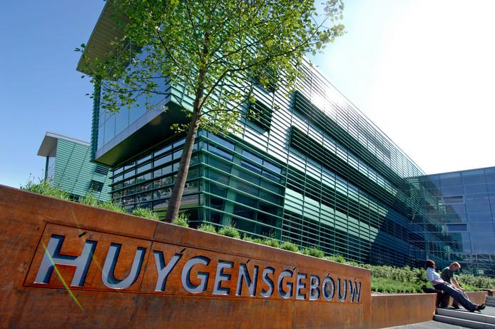 Het Huygensgebouw op de campus van de Radboud Universiteit.