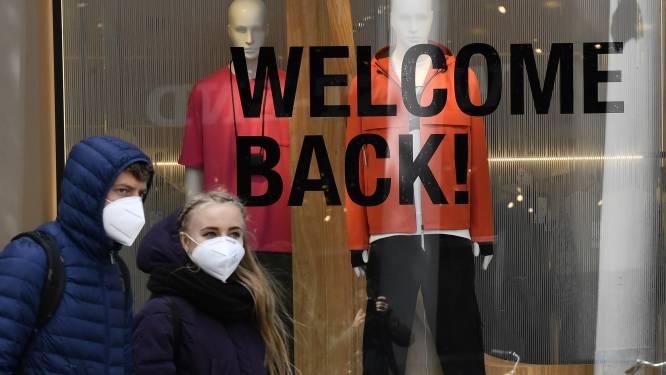 Eén versoepeling: winkels gaan volgende week open