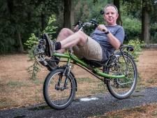 Na tien jaar fietsen is Gerards punt gemaakt: 'Het regent bijna nooit'