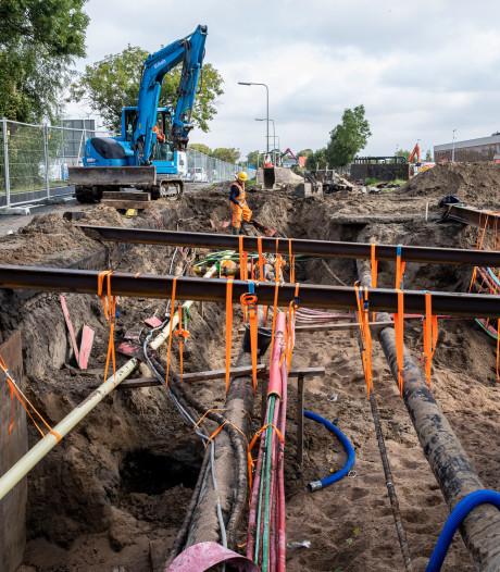 Op deze plekken wordt gegraven voor nieuwe stroomkabels in Ede