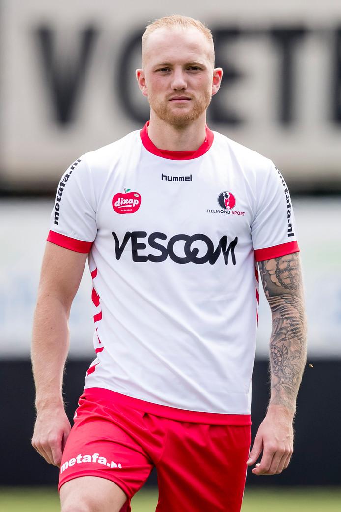 Maikel Verkoelen traint mee bij TOP Oss.