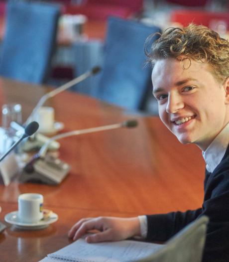 Matt Kanters jongste kandidaat-raadslid van Boekel