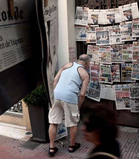 Griekse journalisten gearresteerd na artikel over fraude in vluchtelingenkampen