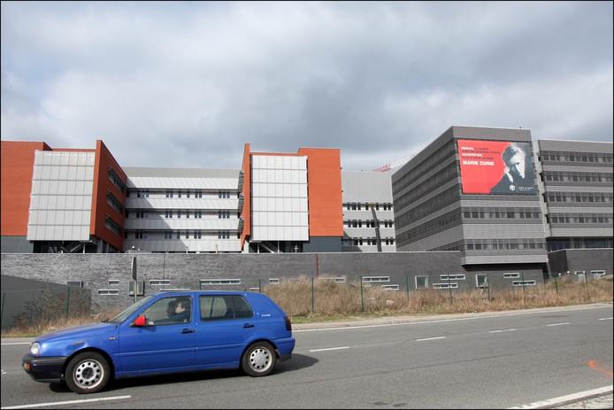 L'hôpital Civil Marie Curie à Charleroi