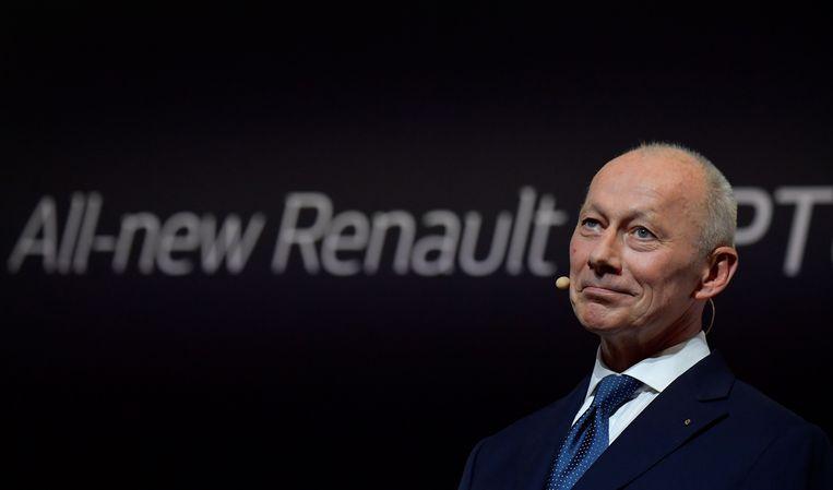 Topman van Renault Thierry Bolloré. Beeld AFP