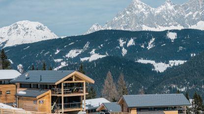 Huizen te koop in de sneeuw