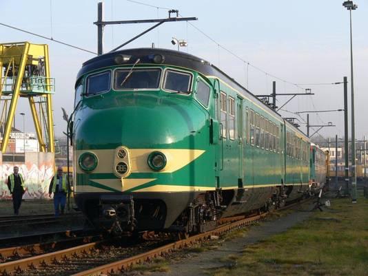 De bekende groene 'Hondekop' oftewel Mat'54.