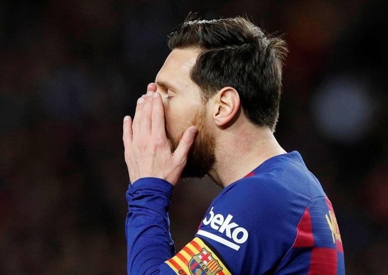 Lionel Messi verdiende pré-corona 358.000 euro bij FC Barcelona. Dagelijks.