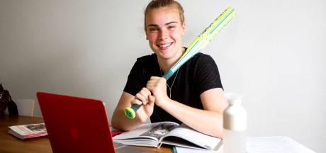 Topsporten, vakkenvullen, en ook nog examen doen: Finette doet het allemaal