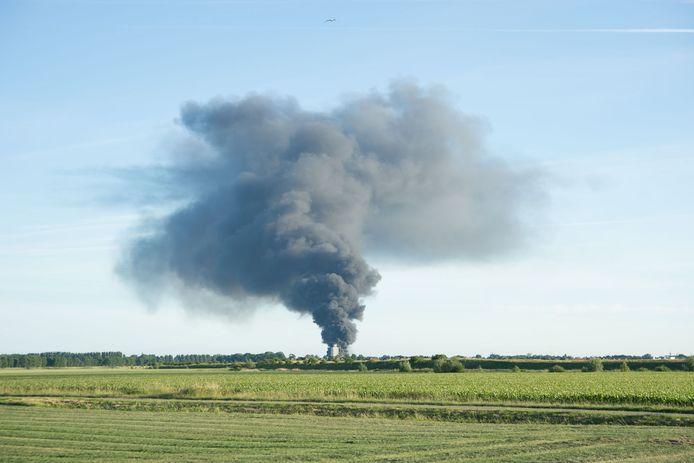 Grote brand in Zierikzee