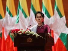 'Pak leugenaar Aung San Suu Kyi Nobelprijs af'