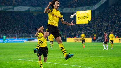 VIDEO. Axel Witsel pikt andermaal doelpuntje mee in ruime zege van Dortmund tegen Hannover, Gladbach wint ook zonder Thorgan Hazard