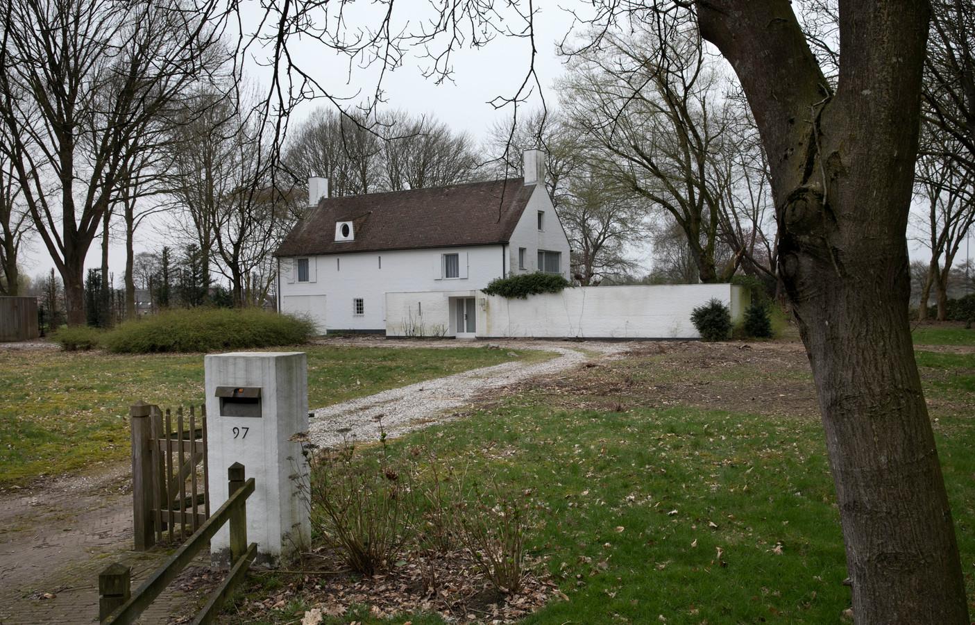 Het landhuis aan de Aarle Rixtelseweg 97 in Helmond.