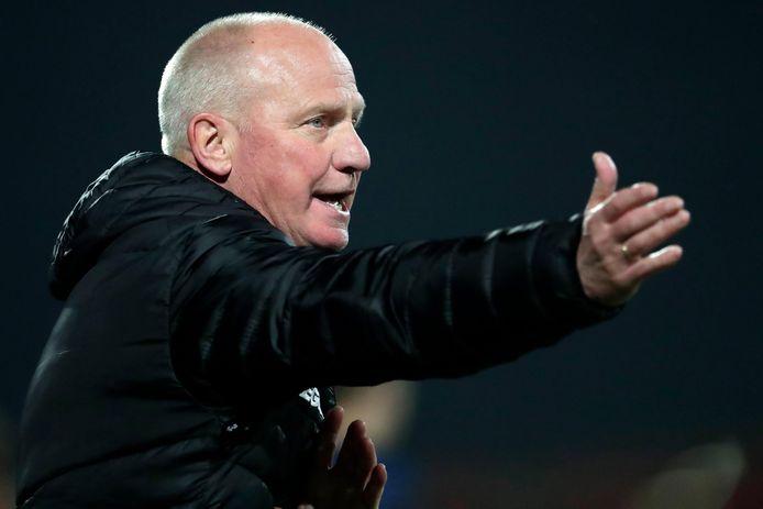 Ron de Groot zag de beloften van NEC niets heel lieten van Jong FC Eindhoven.