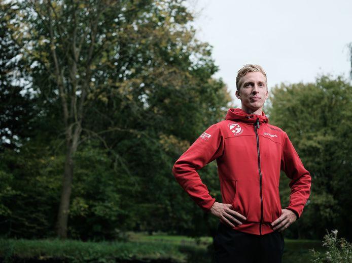 Frank Futselaar won zilver op het NK. Foto Jan van den Brink