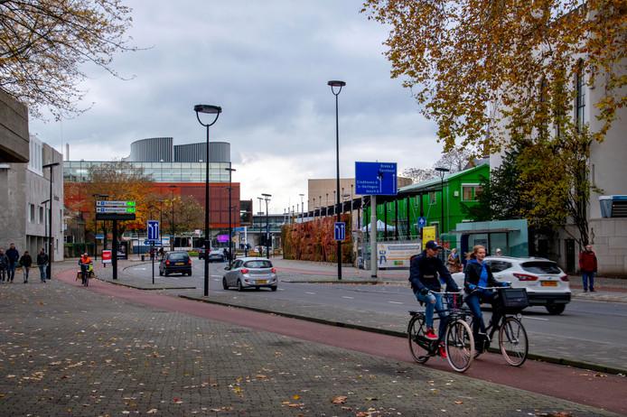 De Paleisring en het Willemsplein, onderdeel van het toekomstige Stadsforum dat hét plein van Tilburg moet worden.