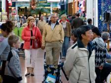 Minder leegstaande winkels in Brabant