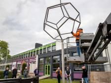 Kunstwerk markeert start nieuwe vakopleiding in Budel