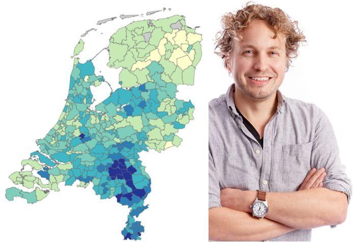 Kunnen we coronamaatregelen het snelst afzwakken in de brandhaard of het lichtst getroffen gebied? Columnist Niels Herijgens las over Groningen én Noord-Brabant.