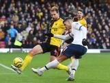 Tottenham één millimeter af van overwinning tegen Watford
