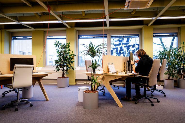 Een kantoortuin van De Stadstuin in Utrecht Beeld ANP, Robin van Lonkhuijsen