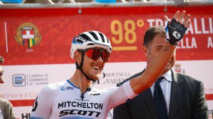 Trentin wint vijfde rit in Ronde van Guangxi, Stuyven strandt op derde plaats