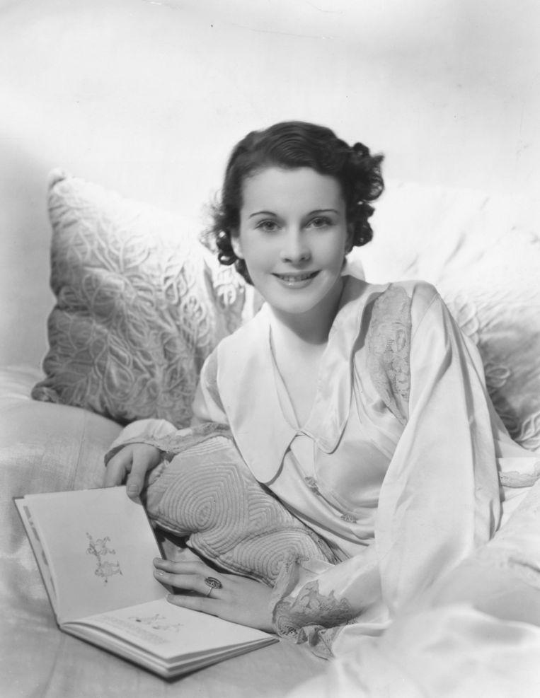 De Engelse actrice Vivien Leigh (1913-1967) op 22-jarige leeftijd.  Beeld Sasha/Getty Images