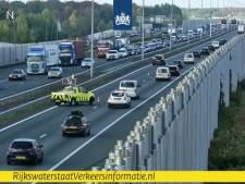 File op A2 bij Eindhoven na ongeval bij knooppunt Batadorp