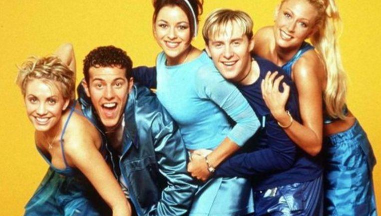 De Britse popband Steps in de jaren 1990