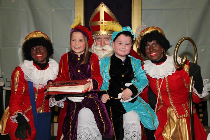 Sinterklaas komt dit jaar met de helikopter aan in Otterlo.
