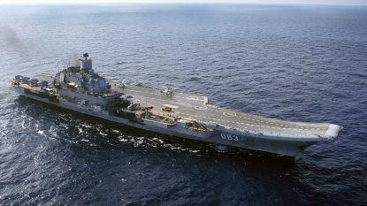Ruslands enige vliegdekschip vat vuur bij onderhoud