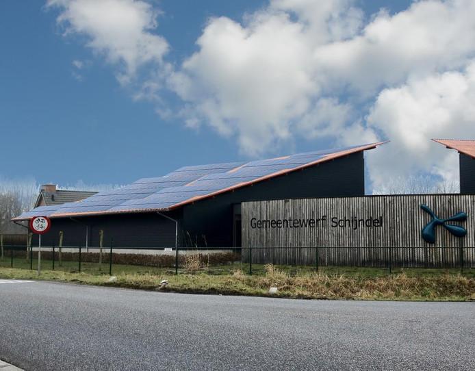 Een impressie van het het zonnepark in Schijndel eruit gaat zien.