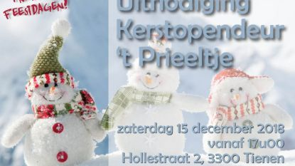 Kerstmarkt in 't Prieeltje