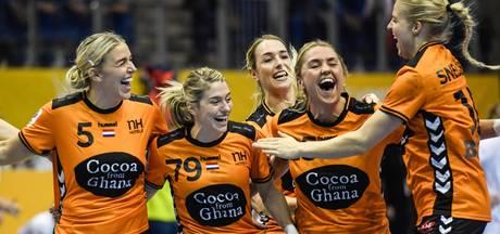 Handbalsters na zege op Tsjechië naar halve finale WK