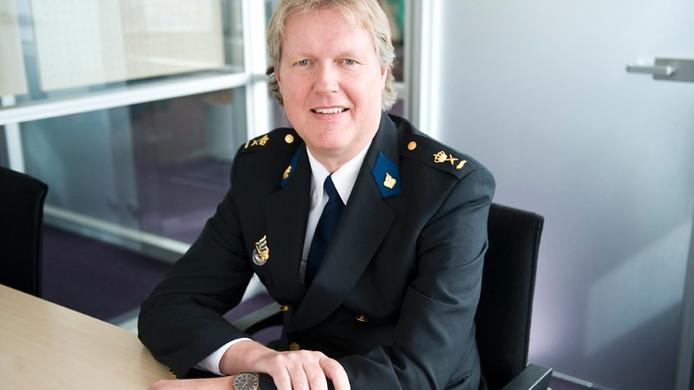 Gery Veldhuis, chef van politie Noord-Nederland.