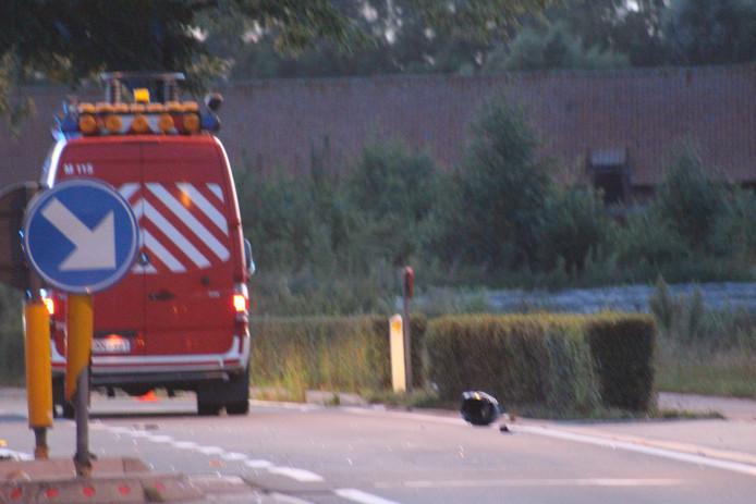 Het dodelijk ongeval gebeurde langs de Astridlaan in Assebroek.