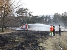 Patrouillevliegtuig brandweer ontdekt natuurbrand bij Baarn