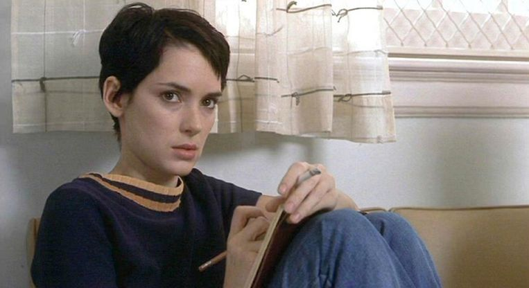Winona Ryder in Girl Interrupted.