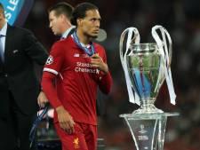 Van Dijk in selectie van beste spelers van de Champions League