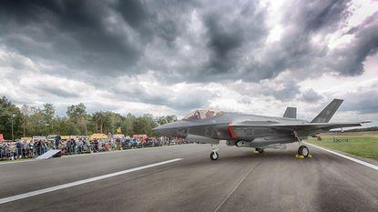 F-35 is blikvanger op Belgian Airforcedays