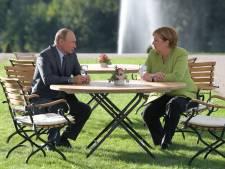 Merkel: 'Bereid samen te werken met Rusland tegen internationale crises'
