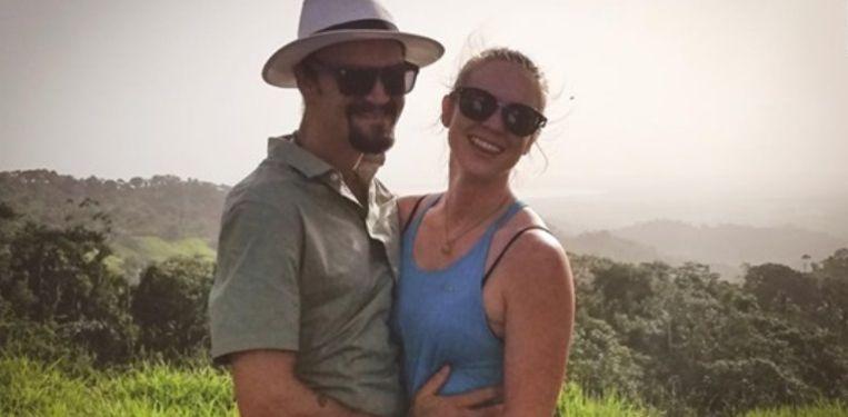 Kaylynn Knull en Tom Schwander