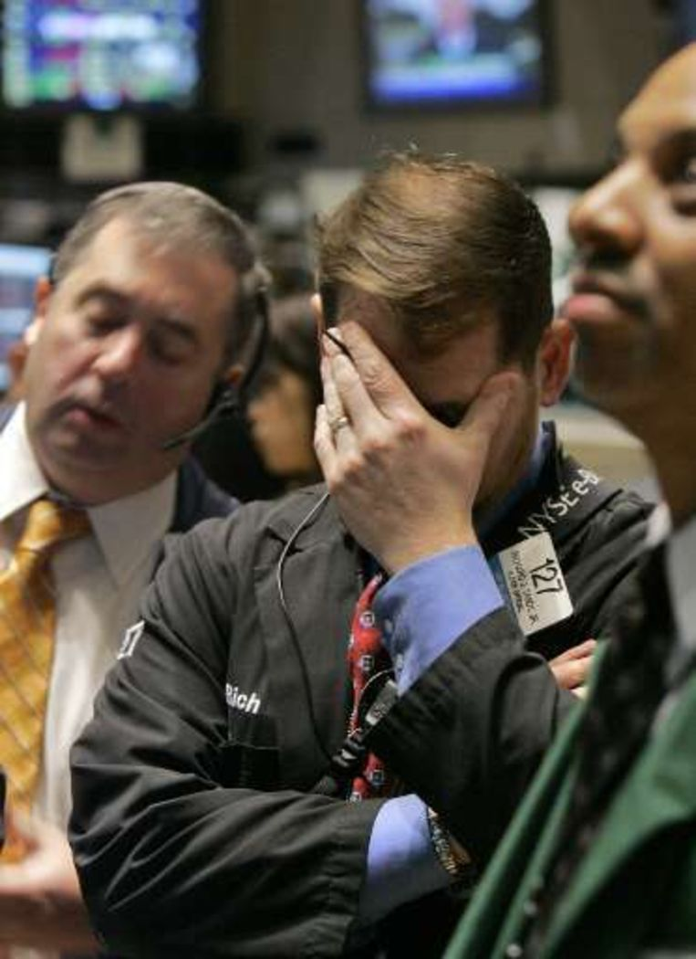 De bekendmaking van de cijfers zorgde voor pessimisme op de beurs.