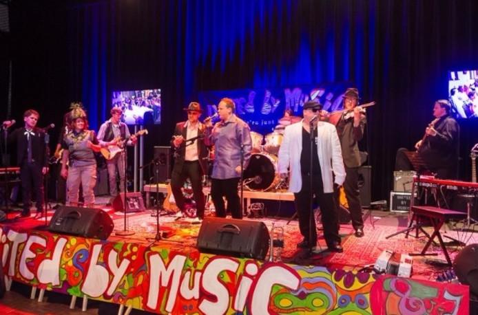 The Blue Sparks is een van de drie bands die geprogrammeerd staan op het United by Music Flevo-festival in Biddinghuizen.
