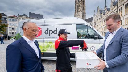 DPD test leveringen met elektrische bestelwagen