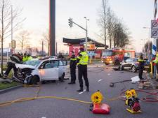 Gewonde na botsing in Utrecht
