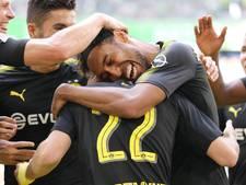 Bosz' Dortmund lijdt geen centje pijn bij zwak Wolfsburg