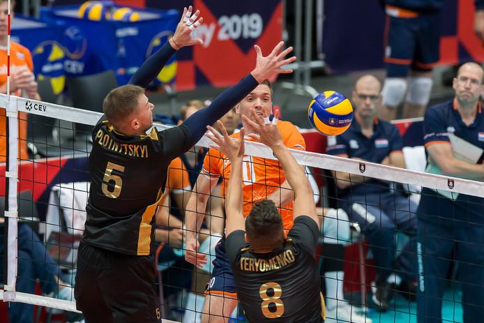 Sjoerd Hoogendoorn in actie.